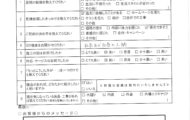 K様邸 テラス・カーポート補修工事 アンケート