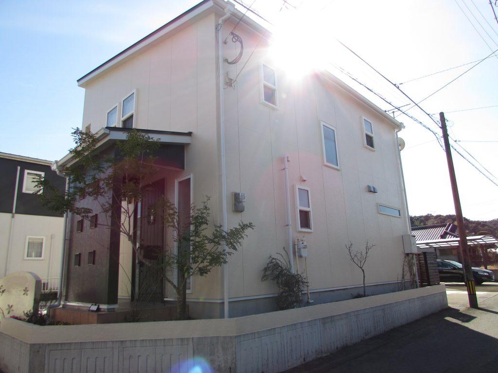 H様邸外壁屋根塗装・シロアリ予防工事後写真