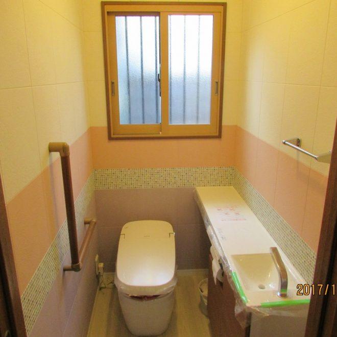M様邸トイレ工事施工後