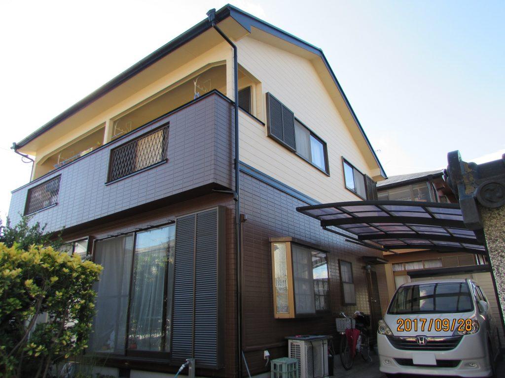 外壁屋根塗装工事 鹿児島市 I様邸施工後写真