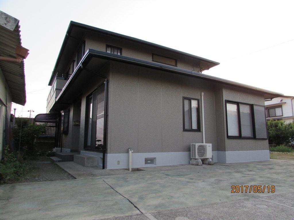 外壁屋根及び基礎塗装工事施工後写真
